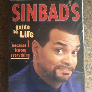 Sinbad's Guide to Life Books on Tape - New